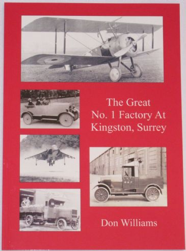 The Great No.1 Factory at Kingston Surrey, by Don Williams